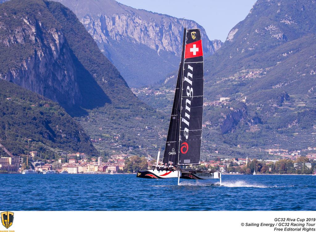 GC32 RIVA CUP, Lago di Garda, Italy. Jesus Renedo/Sailing Energy/GC32 Racing Tour.11 September, 2019.