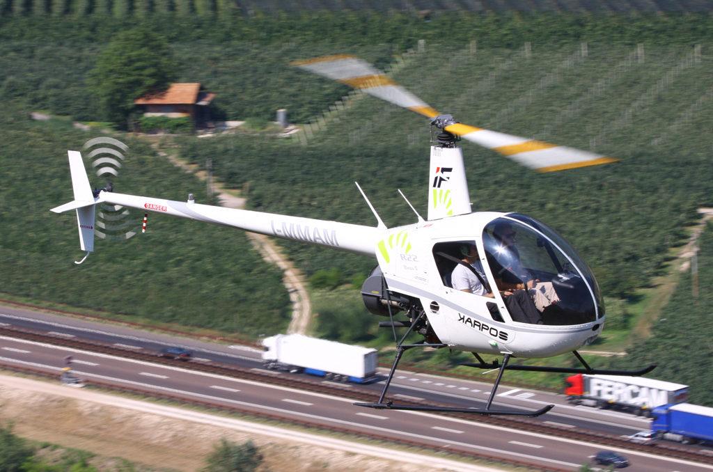 elicottero scuola volo italfly trento 58