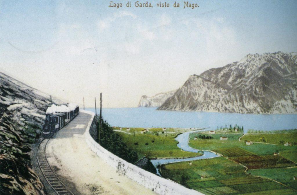 treno mori arco riva