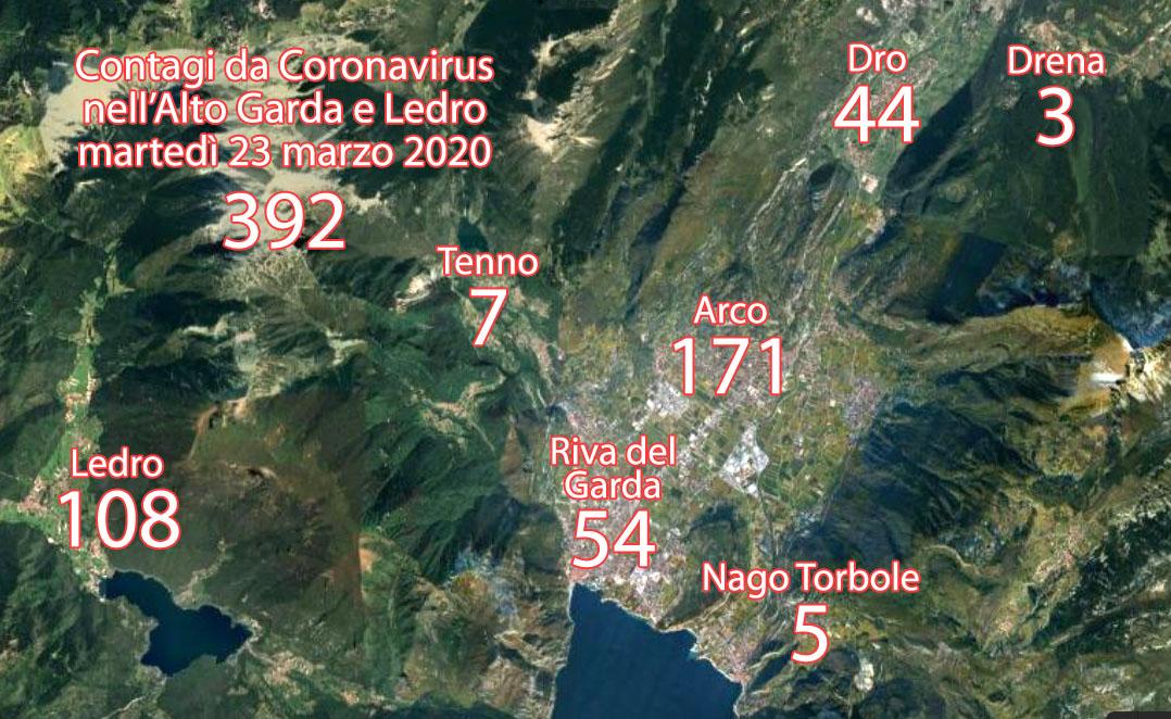 CORONAVIRUS ALTO GARDA 392