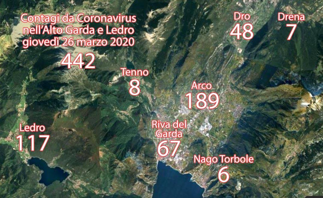 CORONAVIRUS ALTO GARDA 442