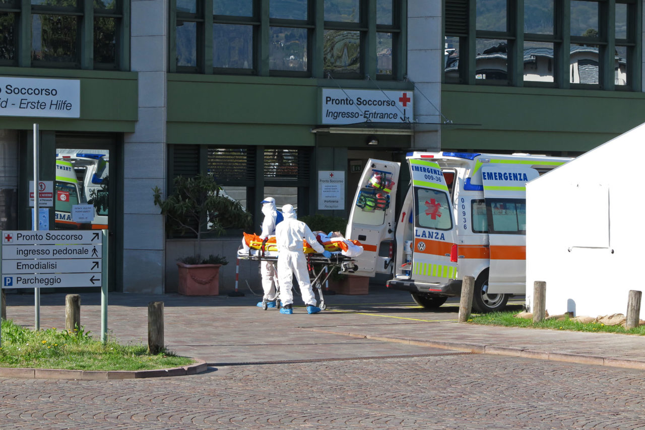 20200401IMG_8865 coronavirus ricovero ospedale arco