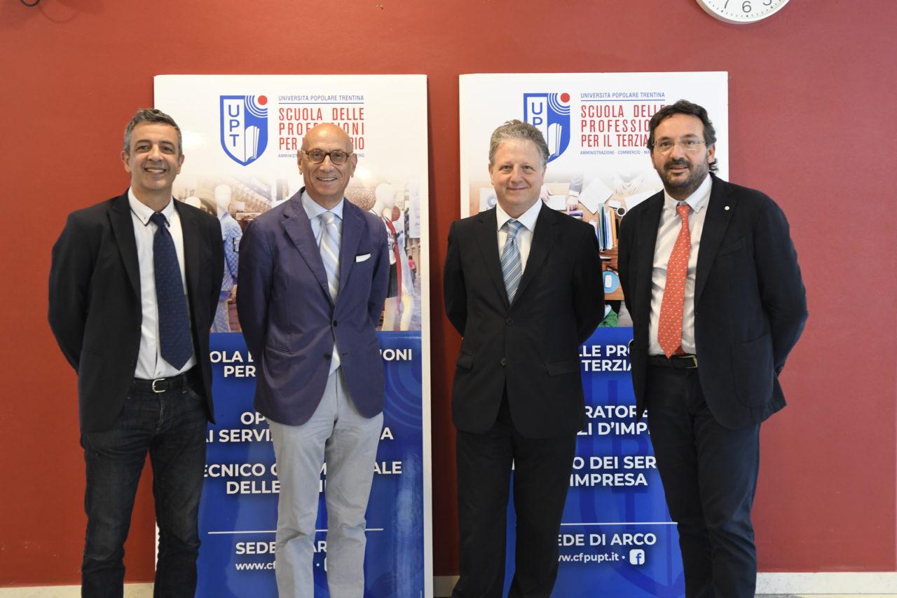 20200618_DSC1163 ARCO PASSAGGIO CONSEGNE PRESIDE UPT DA SIN CLAUDIO NICOLUSSI, IVO TAROLLI, MAURIZIO CADONNA E WALTER IORI
