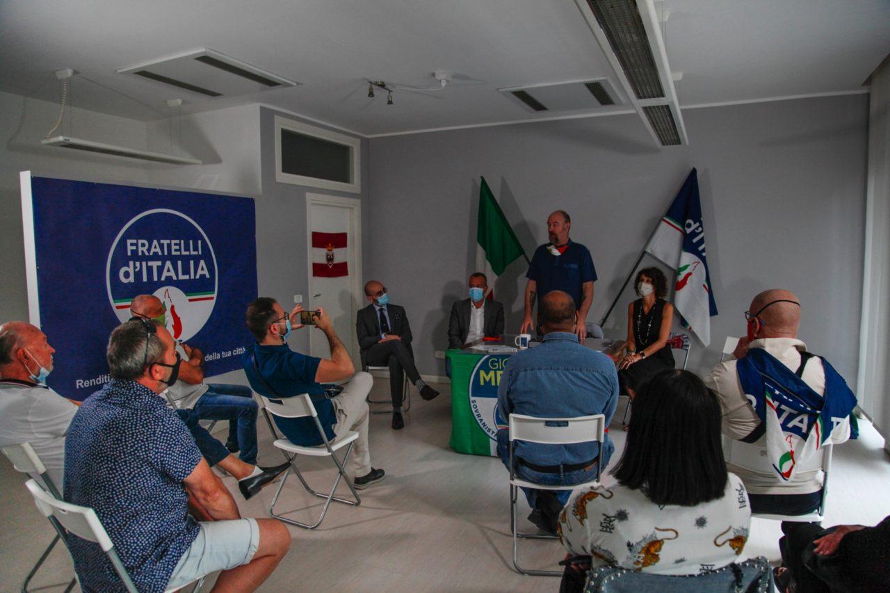 """17/07/20   Riva del Garda   Apertura Nuova Sede di """"Fratelli d'Italia"""""""