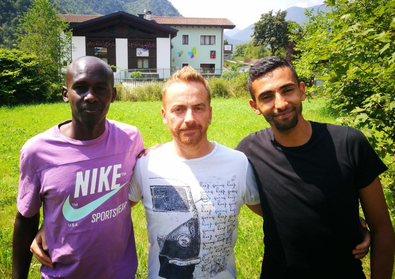 atletica ledro ugandese Simon Rugut Kipngetich Marco Casari e Marco Salami