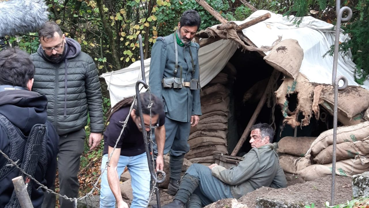 Cuore Italiano film bezzecca 191105 Scena con i protagonisti