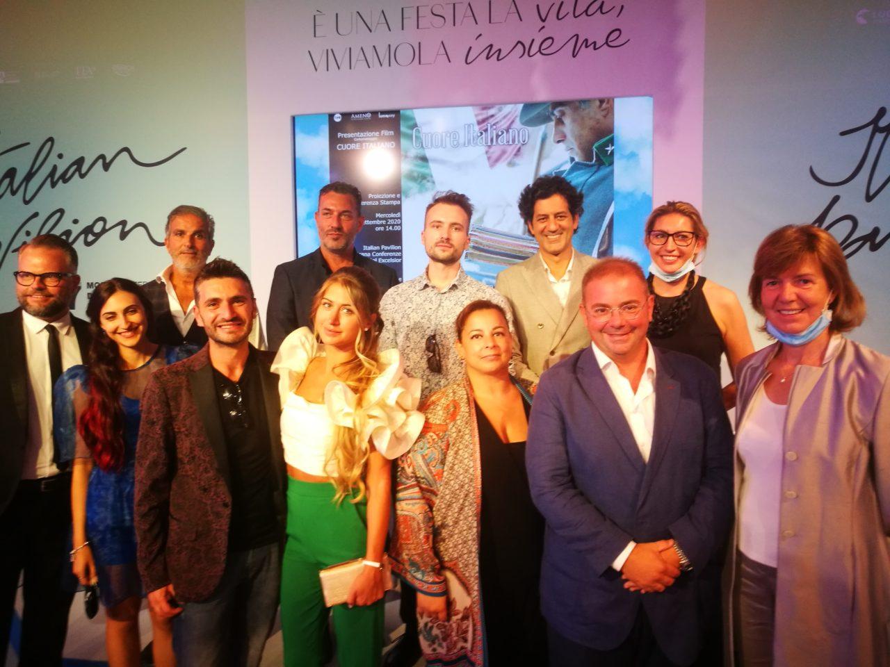 Il Cast di Cuore Italiano con Maria Demadonna e Francesca Spagnolli (1)