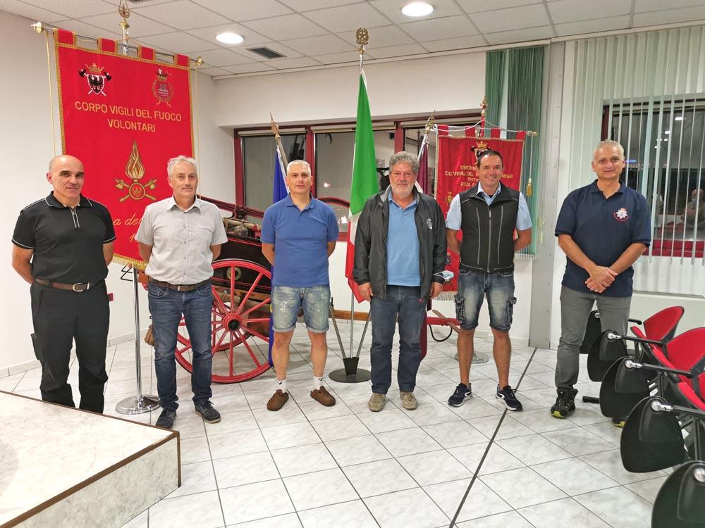 POMPIERI RIVA Ioppi-Boroni-Spada-Mosaner-Gallon-Menegatti W