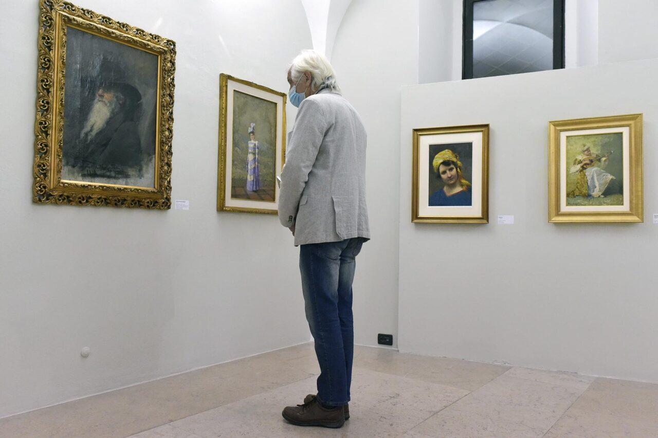 """INAUGURAZIONE DELLA MOSTRA """"ALCIDE DAVIDE CAMPESTRINI - IL SACRO, IL TRAGICO E IL QUOTIDIANO"""""""
