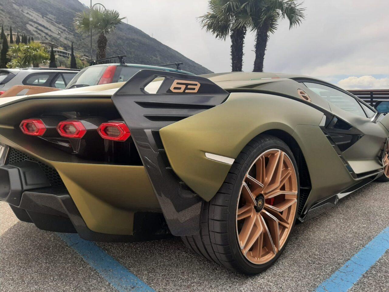 Lamborghini Sian a torbole