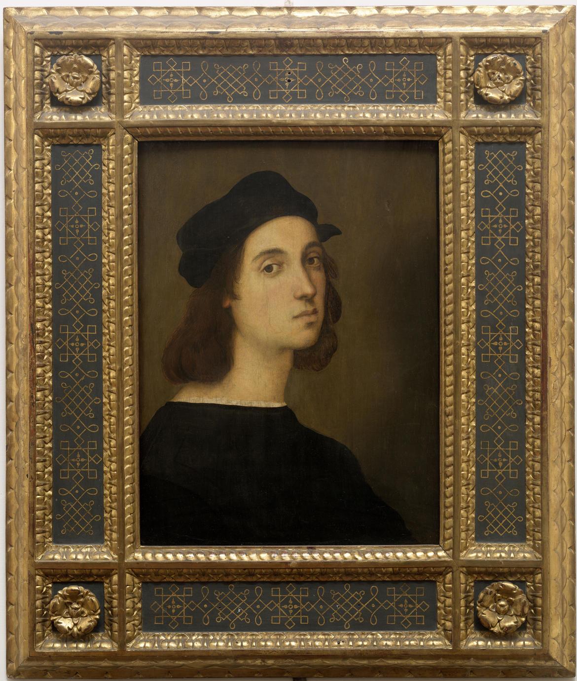 Raffaello Sanzio AutoritrattoINV. 1890 - n° 1706