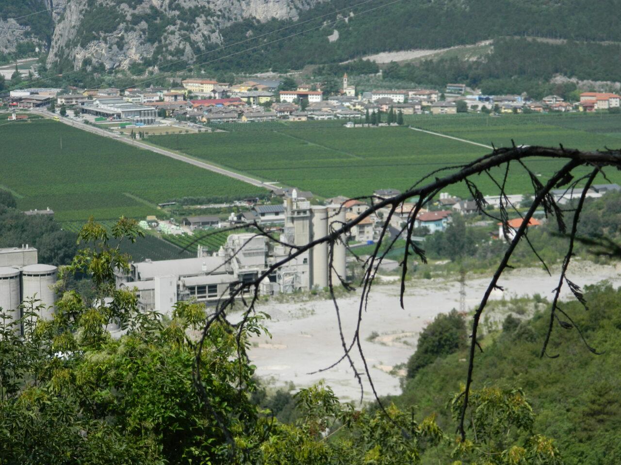 cementificio di Ponte Oliveti Sarche