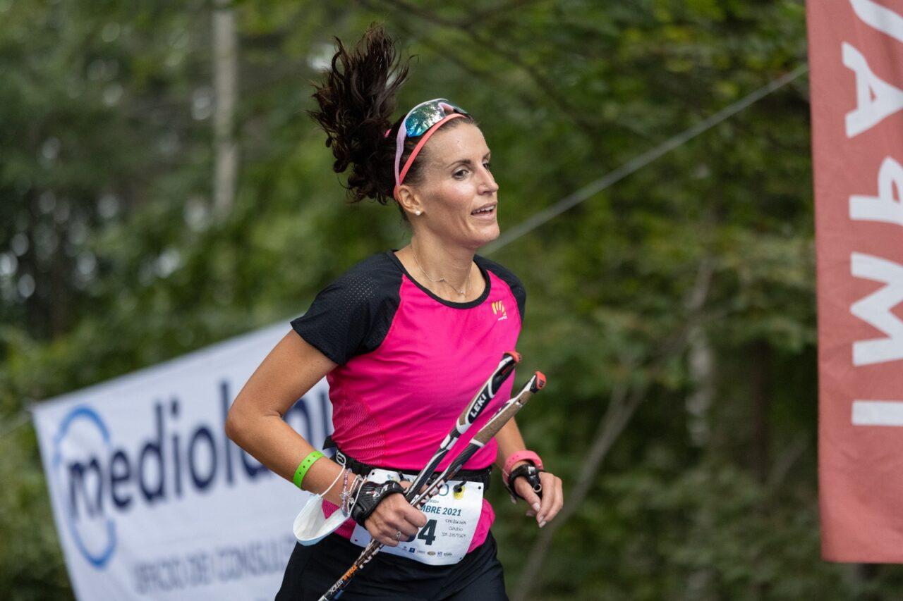 Elena Sassudelli vincitrice assoluta Vertical Velo